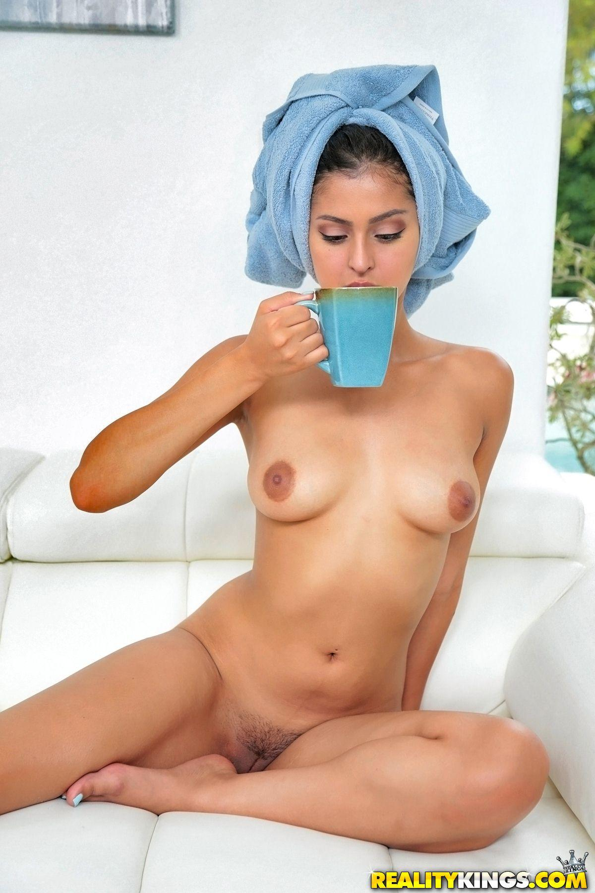 Latina coed sophia is fucking her pussy with a new dildo 3