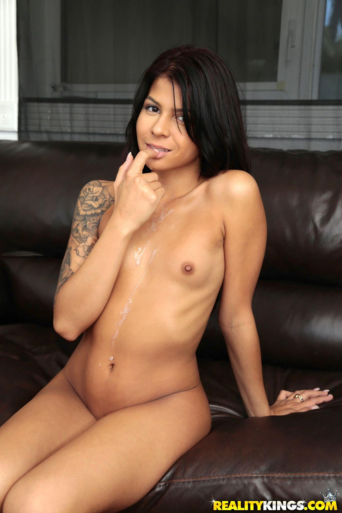 Hot Latin Coed Sadie Pop Gets Her Tight Pussy Filled -5920