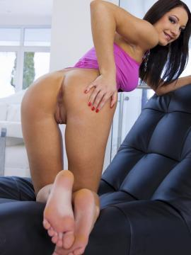 Ass pussy and feet