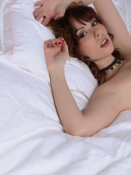 Ariel Rebel stripping and teasing in her sexy black lace