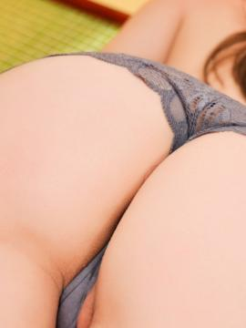ass panties brunette