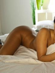 Superstar Asa Akira shows of her amazing body and fingers her tight wet pussy till she cums over and over