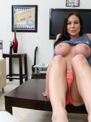 Kendra Lust bounces her wet pussy on a big hard cock