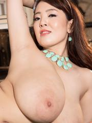 Asian hottie Hitomi Tanaka strips for you in her sexy lingerie