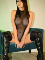Sexy mistress Bryci demands that you worship her at once
