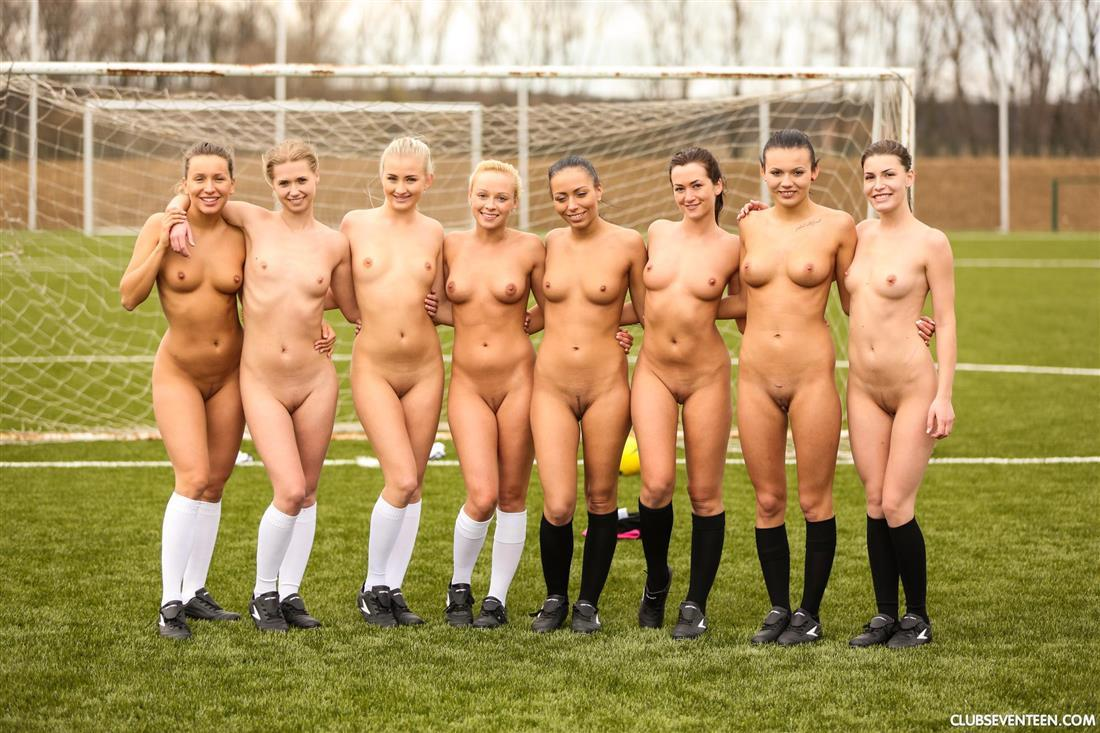 Girls Soccer Team Strips Nude On Field  Coed Cherry-9136