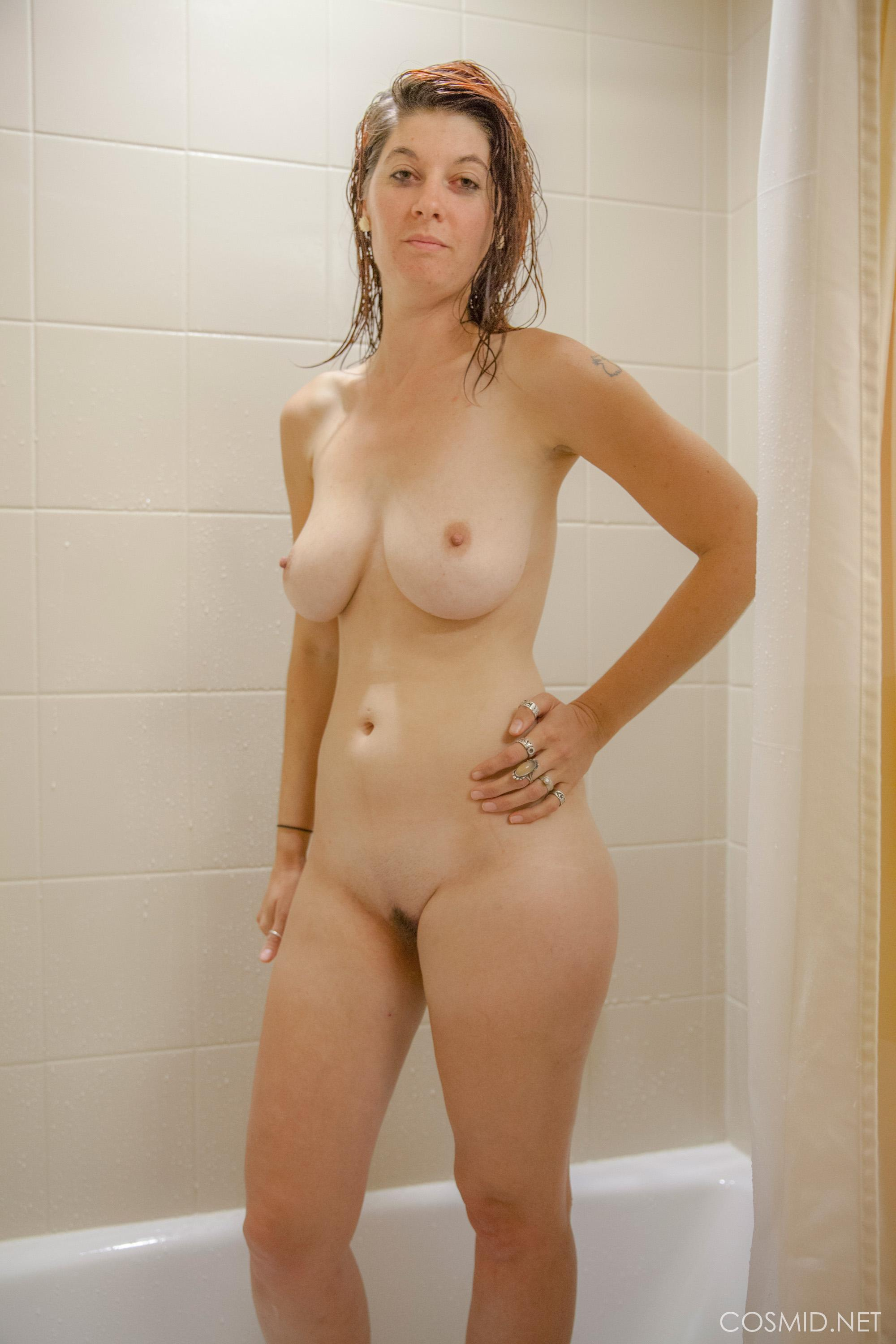For cherry in shower naked pity