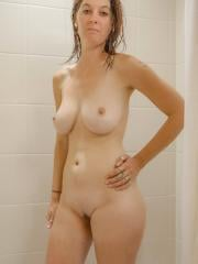 Amateur hottie Ashlynn Brooks gets all wet for you in the shower
