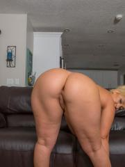 Thick girl Bailey Martin shows you her big ass and round boobs