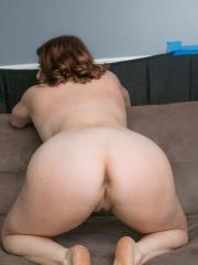 Curvy girl Maggie Green shows off her huge tits and ass