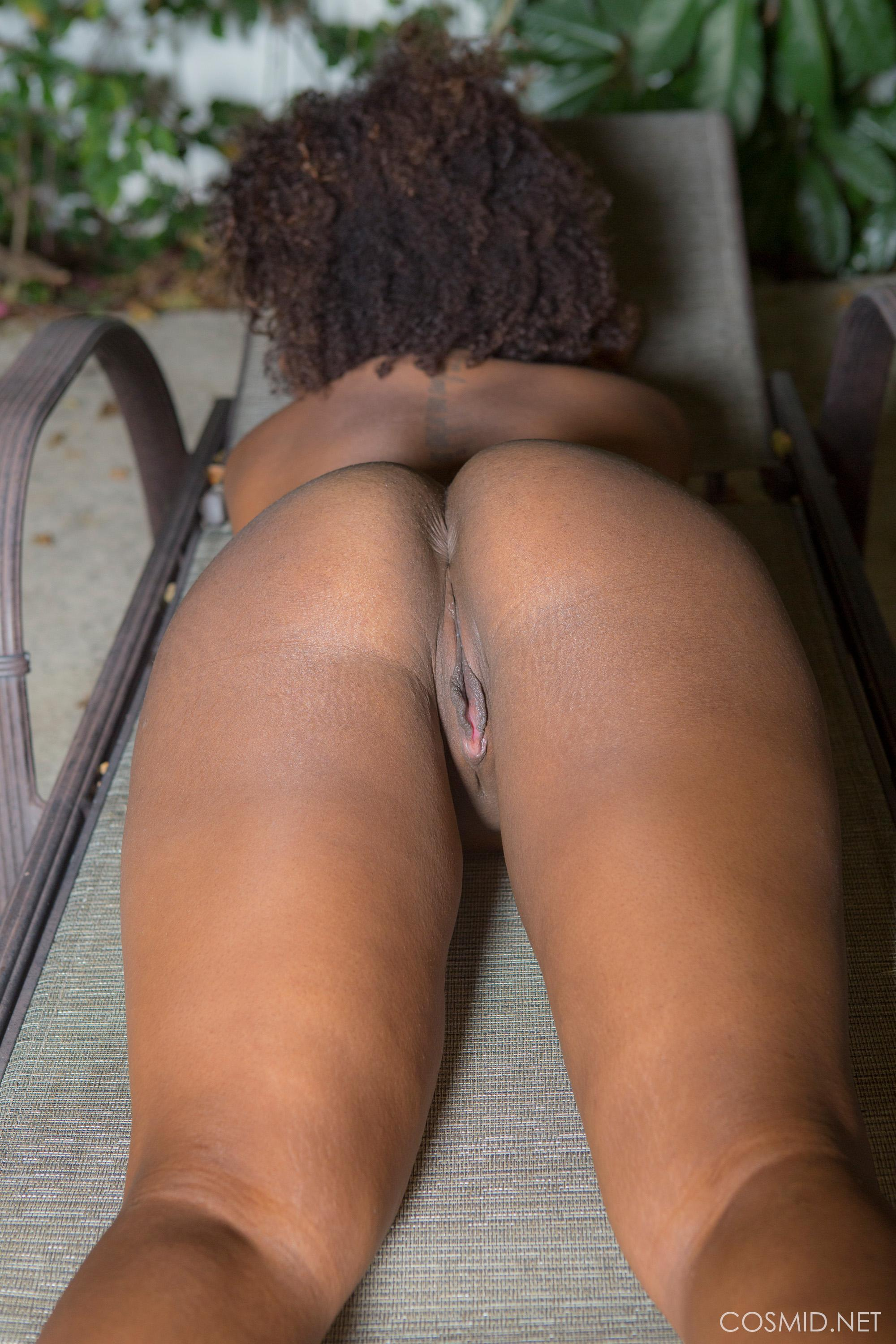 Whitney Williams strips nude in back yard | Coed Cherry