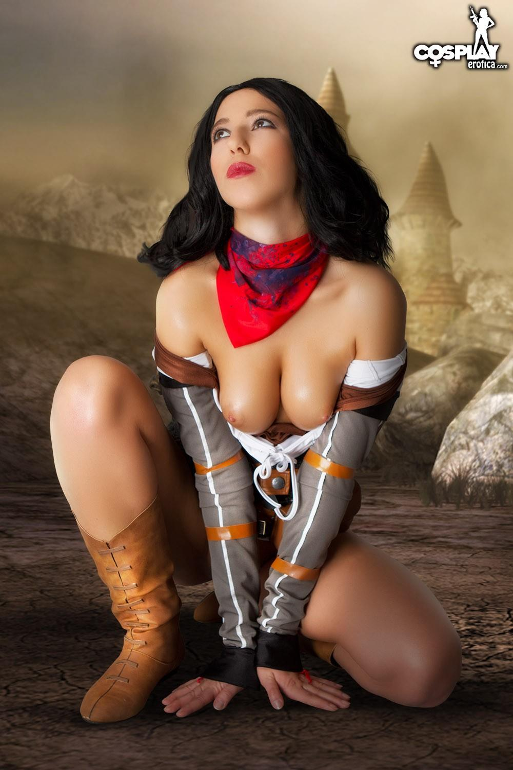 Hot Cosplay Girl Shelly Gets Her Nerd Freak On In A Hot -5718