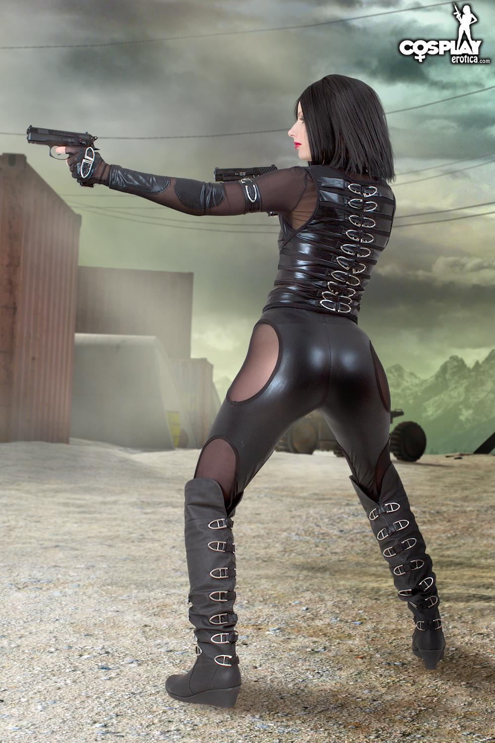 Cosplay Hottie Marylin Will Defeat The Zombies - Coed Cherry-9841
