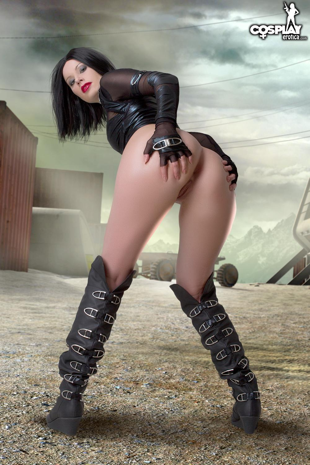 Cosplay Hottie Marylin Will Defeat The Zombies - Coed Cherry-6730