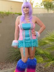 Pictures of Danielle FTV dressed as your fantasy fuck unicorn