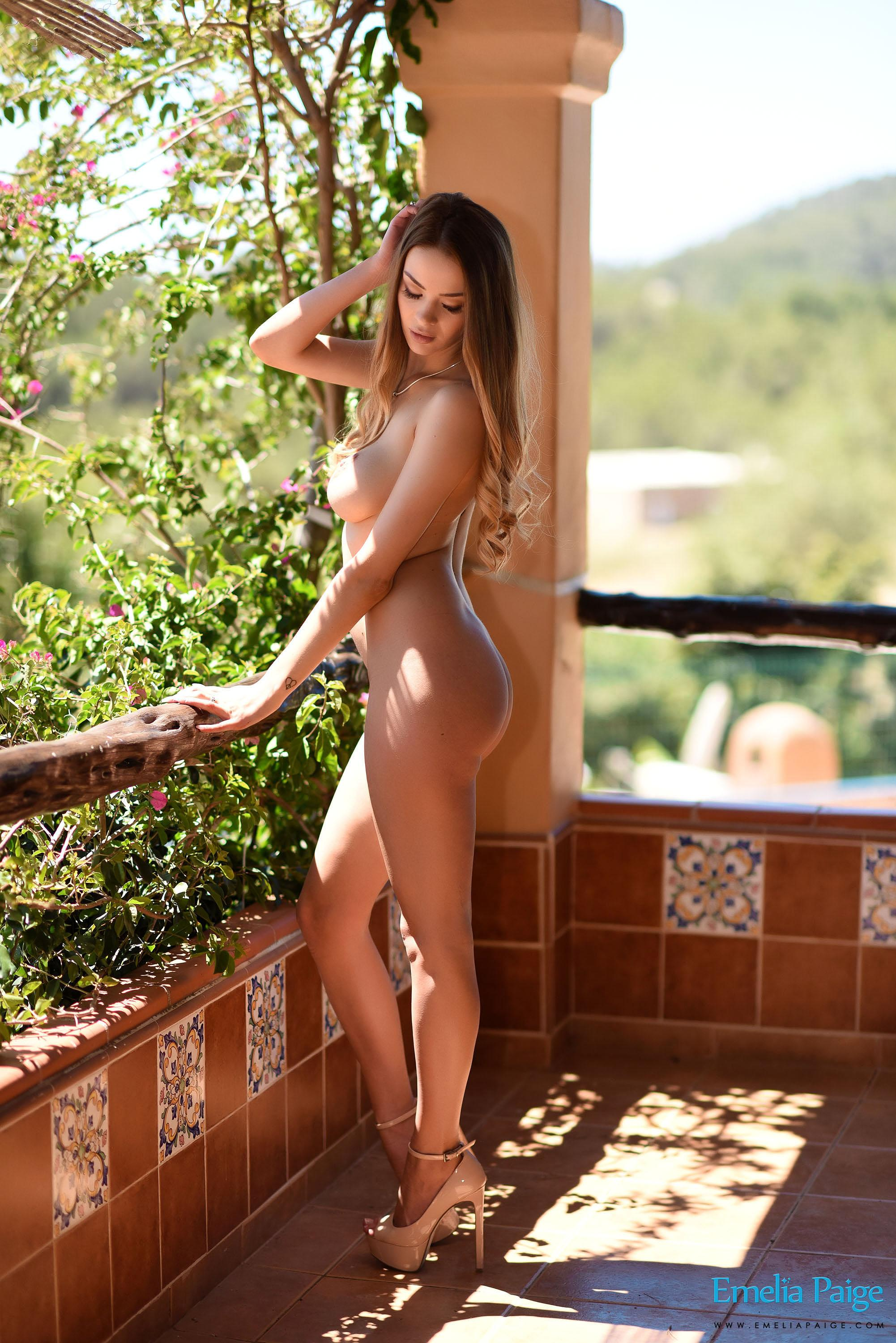 See and save as nude on patio porn pict