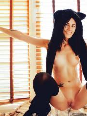 "Hot furry Alla B masturbates for you in ""CANDY"""