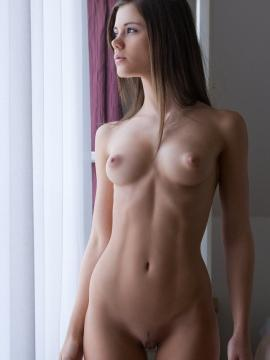 Pictures of Caprice waiting for you fully nude