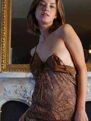 Pictures of Danica stripping in her victorian home