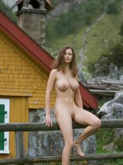 Pictures of Femjoy's Susann in Almhuetten