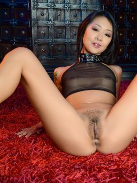 Asian hottie Saya Song gives a hot pov blowjob