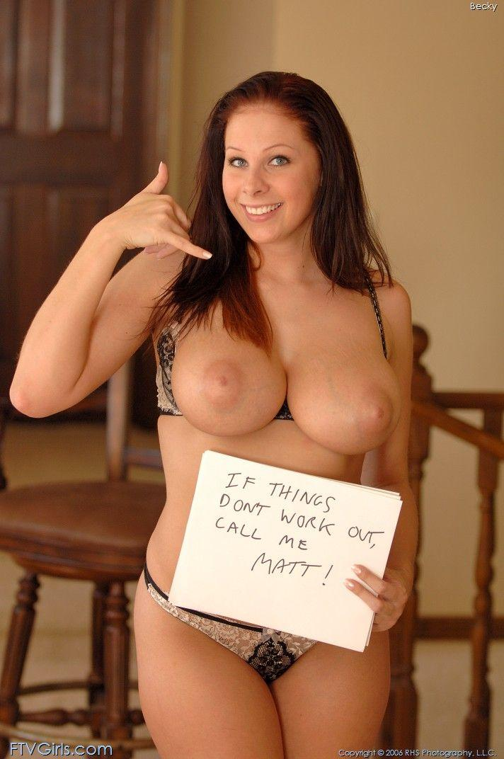 Solved. gianna michaels becky ftv what necessary