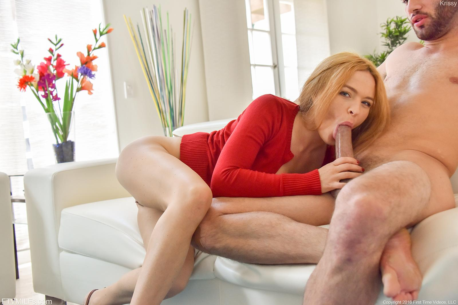 redhead hottie krissy lynn gets boned hard and deep at
