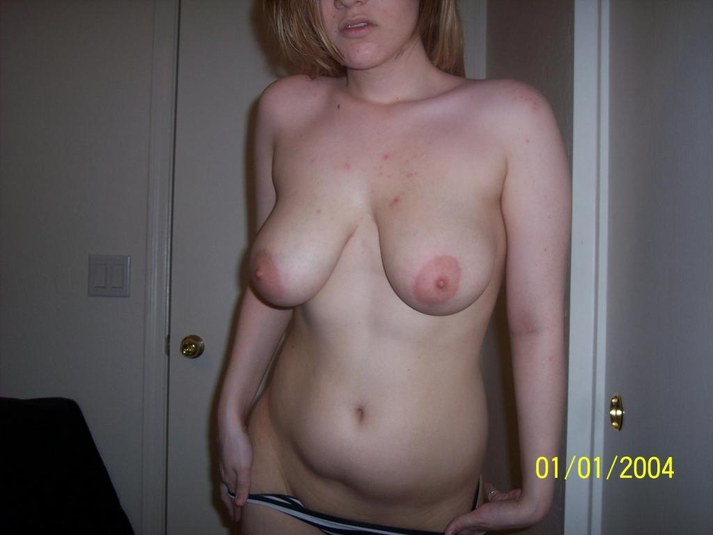 shows boobs girl College