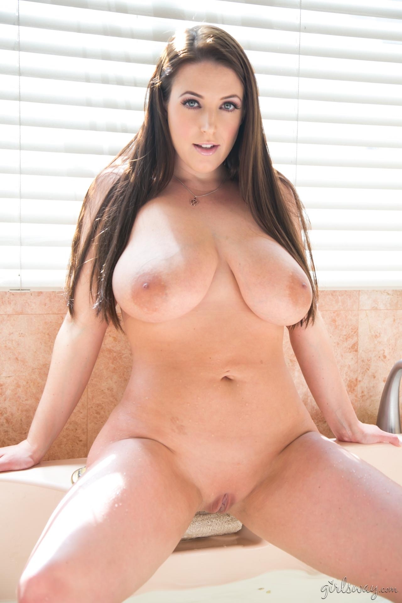 Busty Girl Angela White Gets Hot And Wet In The Bath  Coed Cherry-6622