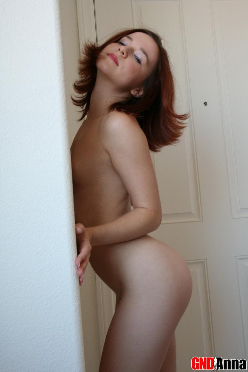 Babe with short hair banged in ass 2