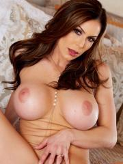 "Busty brunette Kendra Lust gets naked for you in ""Fall in Lust"""