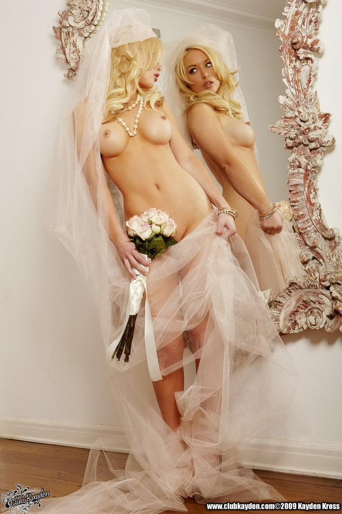 Pictures Of Kayden Kross Being Your Sexy Fantasy Bride -7572