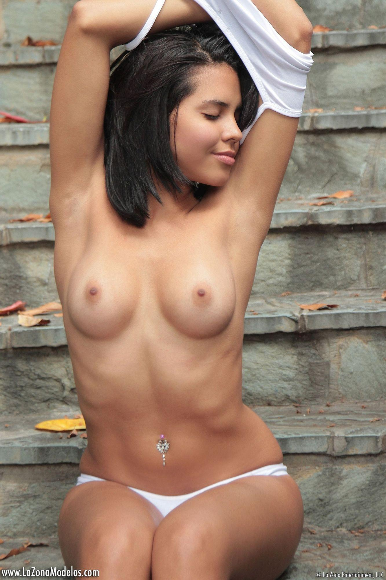 Vivi Spice Is A Playful Latina Teen That Has A Tight Body That She