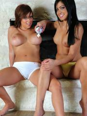 Cierra and her best friend Layla have some fun together