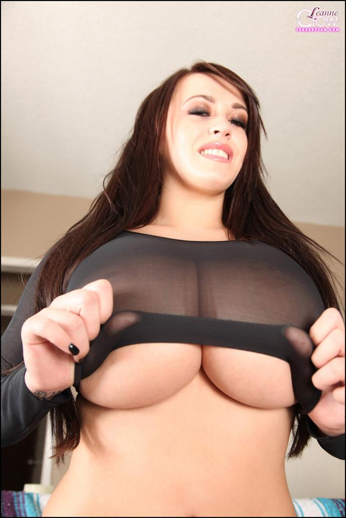 Super busty leanne crow from it