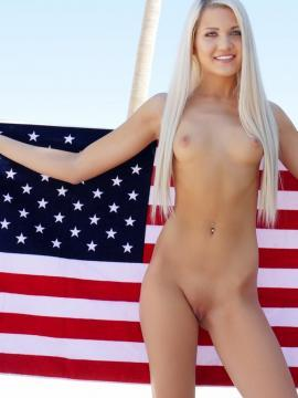 Ashlee Mae Oiled Independence Day