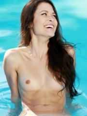 "Beautiful girl Amelie B wants to go skinny dipping with you in ""Vailen"""