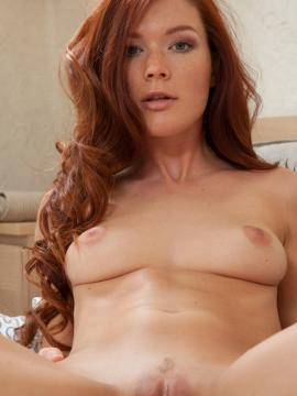 """Redhead babe Mia Sollis gives you her hot nude body in """"Tesala"""""""