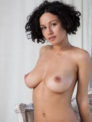 "Busty brunette Pammie Lee gets naked for you in ""Fulizea"""