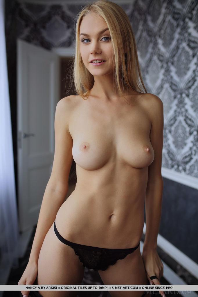 Blonde Beauty Nancy A Shows You Her Tight Nude Body In -2753