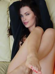 """Beautiful girl Amelie B gives you her tight pussy in """"Castrie"""""""