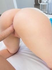 Maddy Orelly gets her round ass fucked hard in roller skates