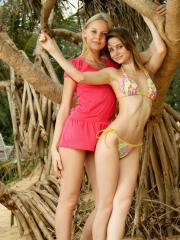 "MPL Studios Presents Anya and Sarah in ""Postcard From Paradise"""