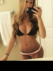 Various college girls take pics in their sexy bikinis and underwear