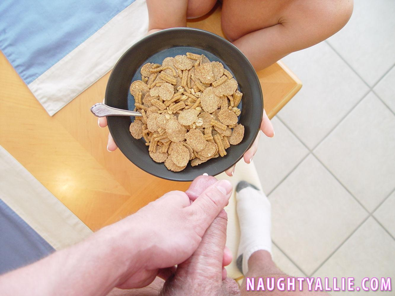 Sperm on cereal