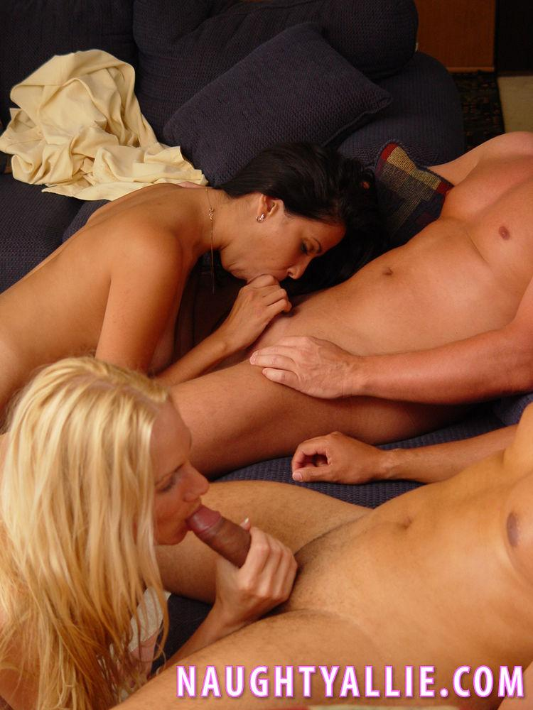 Naughty allie foursome