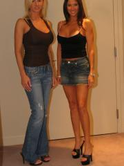Naughty Allie gets together with her friend Rio for some hot lesbian fun