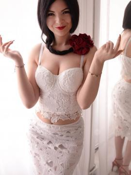 Cute model Nina Calypso teases in various outfits