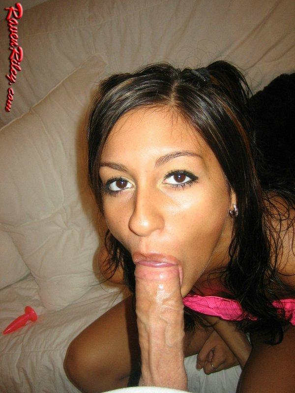 Raven riley facial