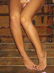 Pictures of Raven Riley slipping out of her bikini
